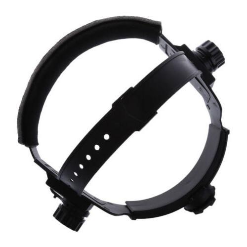 Adjustable Welding Welder Mask Headband Solar Auto Dark Helm