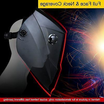 Antra™ AH6-260-6218 Solar Power Auto Darkening Helmet Shade