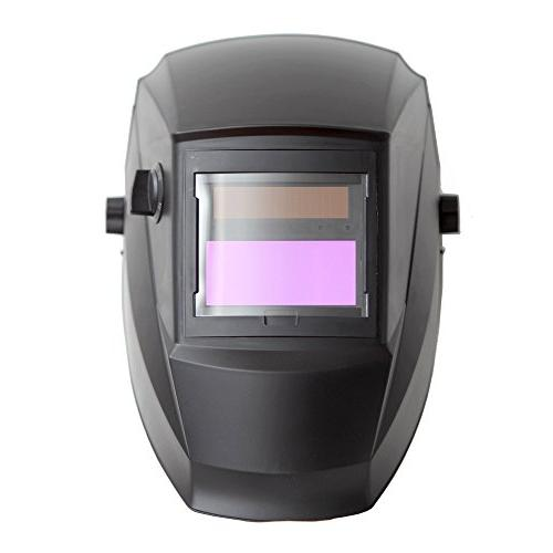 Antra AH6-260-0000 Auto Wide Shade Range with 6+1 lens covers Stable for TIG MMA