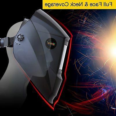 Antra™ Solar Power Auto Darkening Welding Shade 4/5-9/9-13