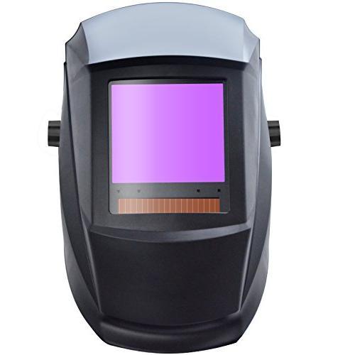 "Antra AH7-860-0000 Solar Auto Darkening Welding Helmet AntFi X60-8 Size 3.78""X3.5"" 4/5-9/9-13 Great MIG MMA"