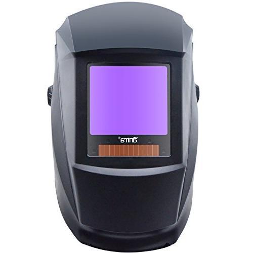 Antra AH7-X30P-0000 Digital Solar Welding Helmet 4/5-8/9-13 Feature Extra Lens for TIG, Plasma