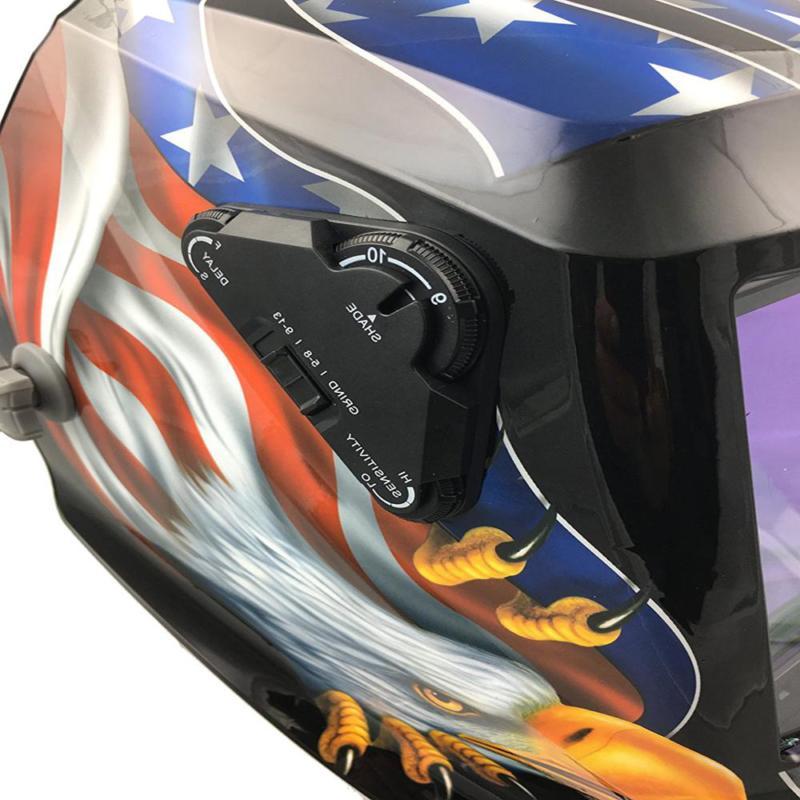 Instapark American Eagle Darkening Helmet Apparel Work New