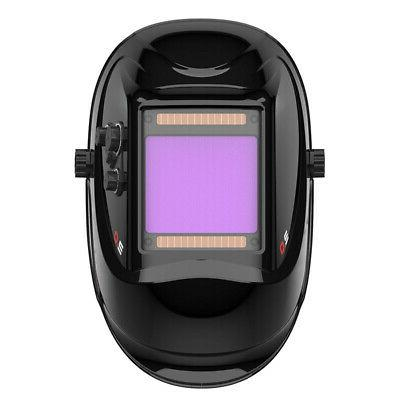 Auto-Darkening Welding Helmet Pro Large View Area True Color