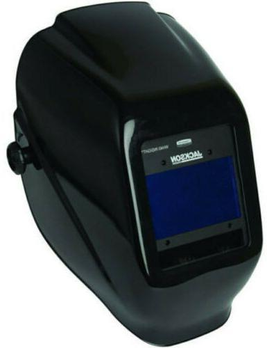 black insight variable auto darkening welding helmet