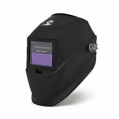 black variable shade auto darkening welding helmet