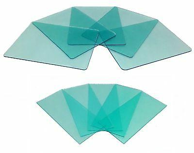 """Instapark Clear Lens for ADF Welding Helmet x and 4"""" x 1.75"""" Replacement 5 pieces each"""