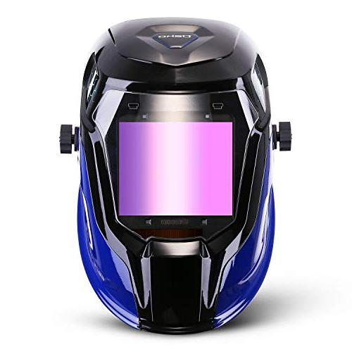 Durable Solar Helmet Auto Hood Display Accurate Adjustable Shade Range 4/5-8/9-13 Mig Tig Arc Weld Welder Mask