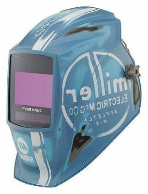 electric 281004 welding helmet vintage roadster blue