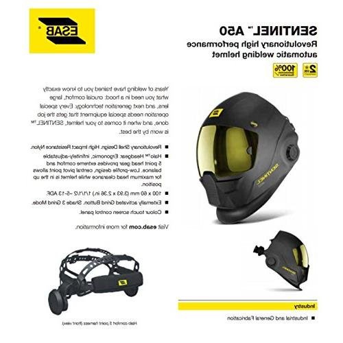 ESAB A50 Welding Helmet Buy one GLOVES!!!