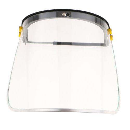 face protection shield suspension clear len personal