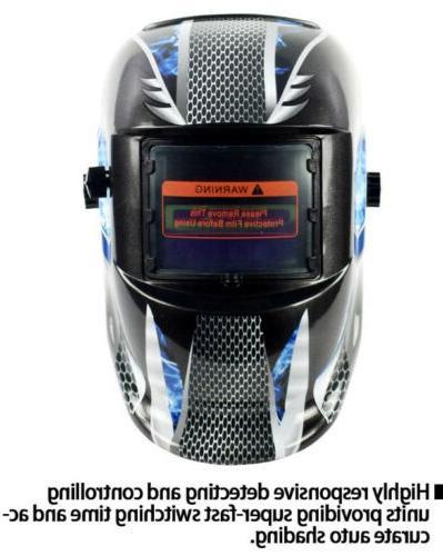 Full Welding Auto Darkening Head Tig Arc