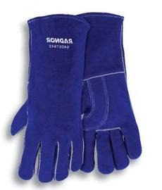 "Radnor Glove Welders Large Blue 14"" Shoulder Split Cowhide C"