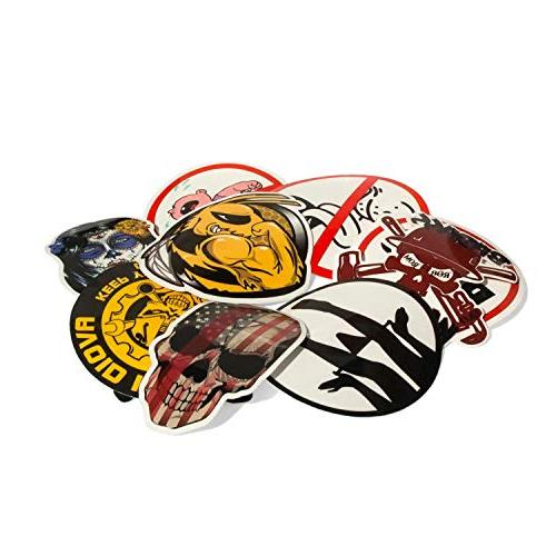 Hard hat stickers 30-Pack Badass patriotic for box,construction,union,military,ironworker,lineman,oilfield,electrician,pipeliner,ibew