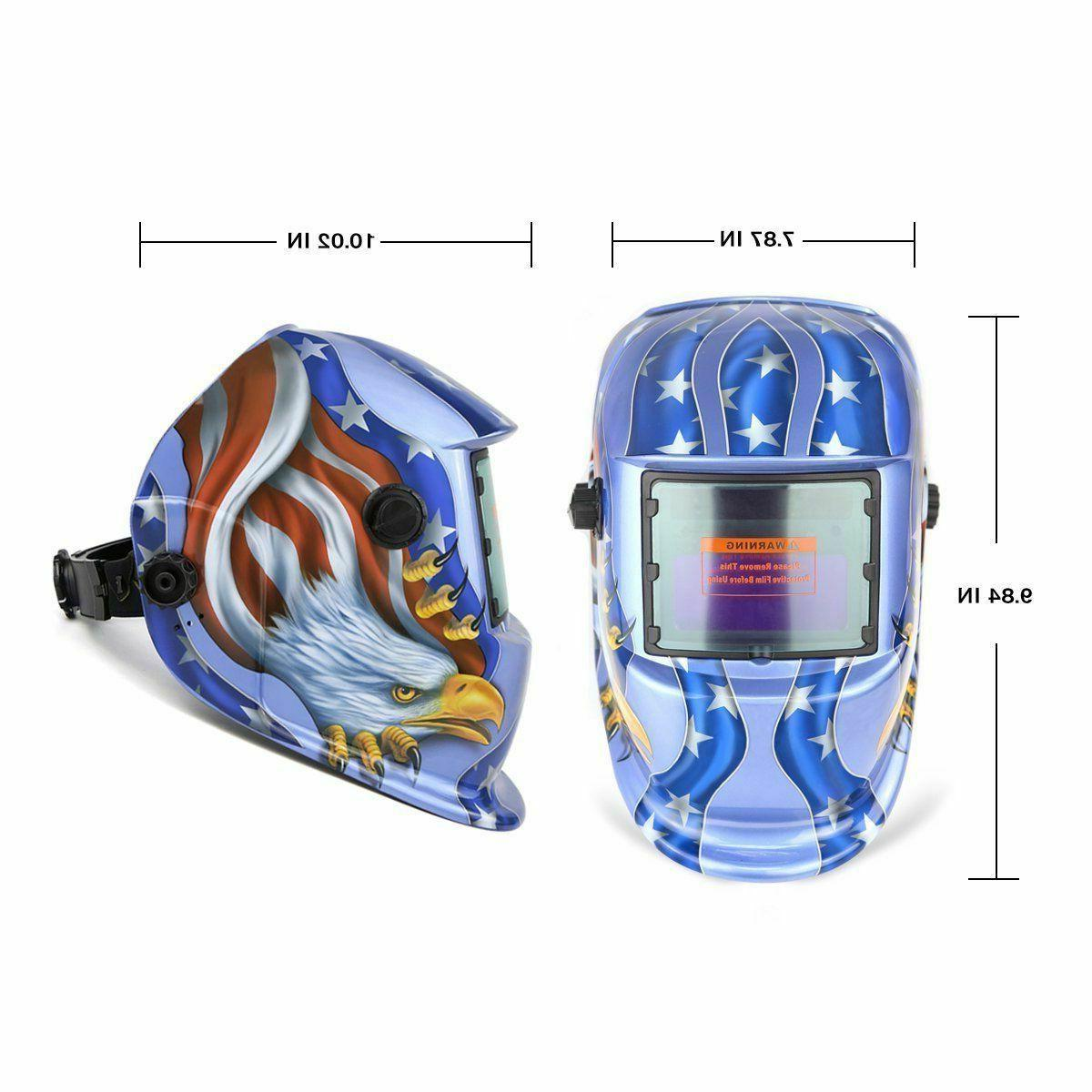 DEKO Solar Welding Helmet Tig Arc Mask Grinding Mask