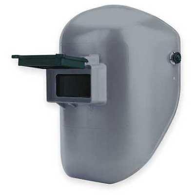 HONEYWELL FIBRE-METAL 906GY Welding Helmet, Shade 10, Gray