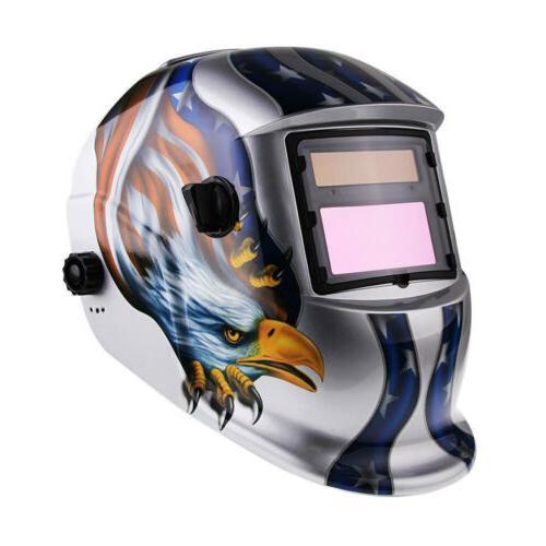 Hot Pro Auto Darkening Grinding Security Welding Helmet Safe