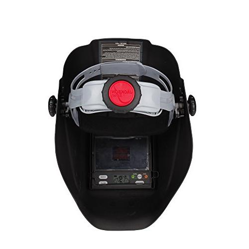 Jackson Safety Variable Auto Darkening Helmet, HaloX , 1 Helmet
