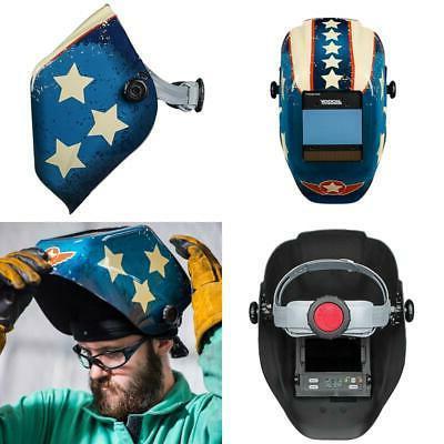 insight variable auto darkening welding helmet new