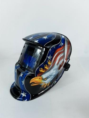 instapark adf series solar welding helmet range