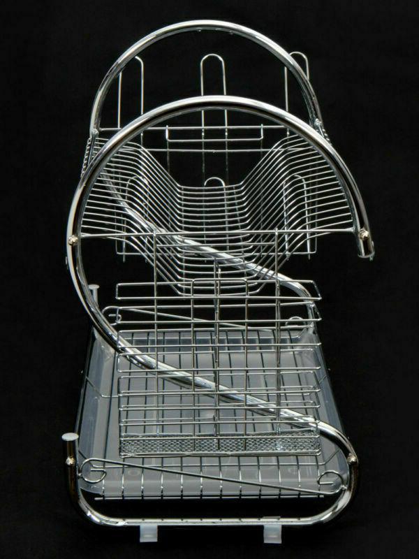 Rack Holder 2-Tier Dryer Stainless