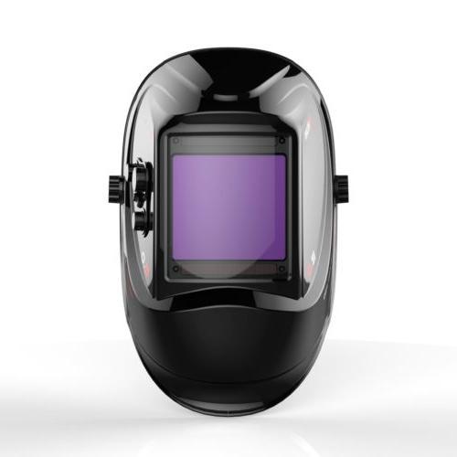 Large View Area Color Mask Helmet