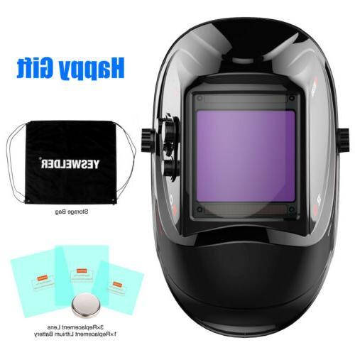 Large Color Pro Solar Mask Auto-Darkening