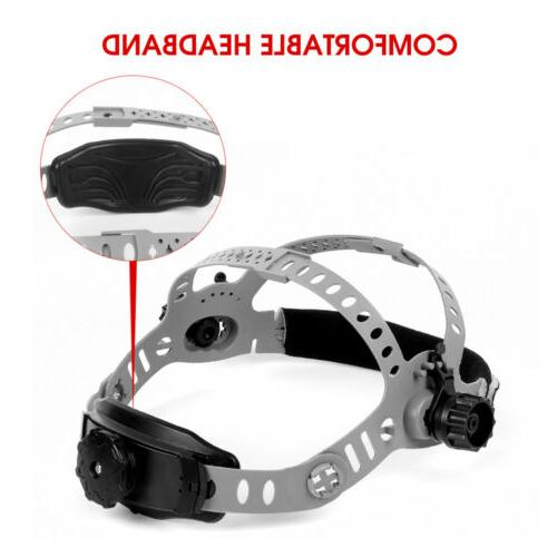 comfortable adjustable welding mask headband for auto