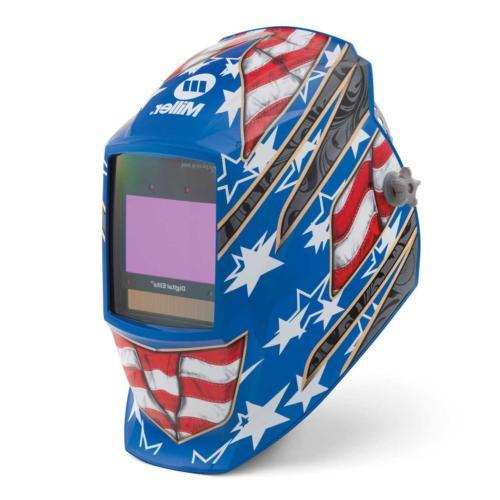 Miller 281002 Digital Elite Stars and Stripes III Welding He