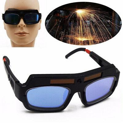 NEW Solar Powered Auto Darkening Welding Eyes
