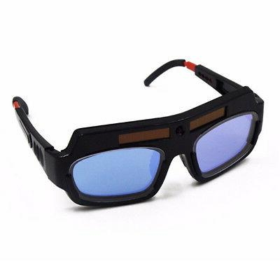 NEW Solar Powered Darkening Welding Mask Eyes Glasses