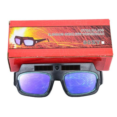 new solar powered auto darkening welding mask