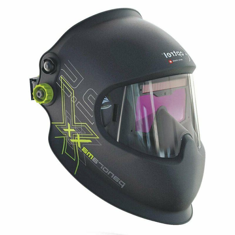 Optrel Panoramaxx Auto Darkening Welding Helmet Black #1010.