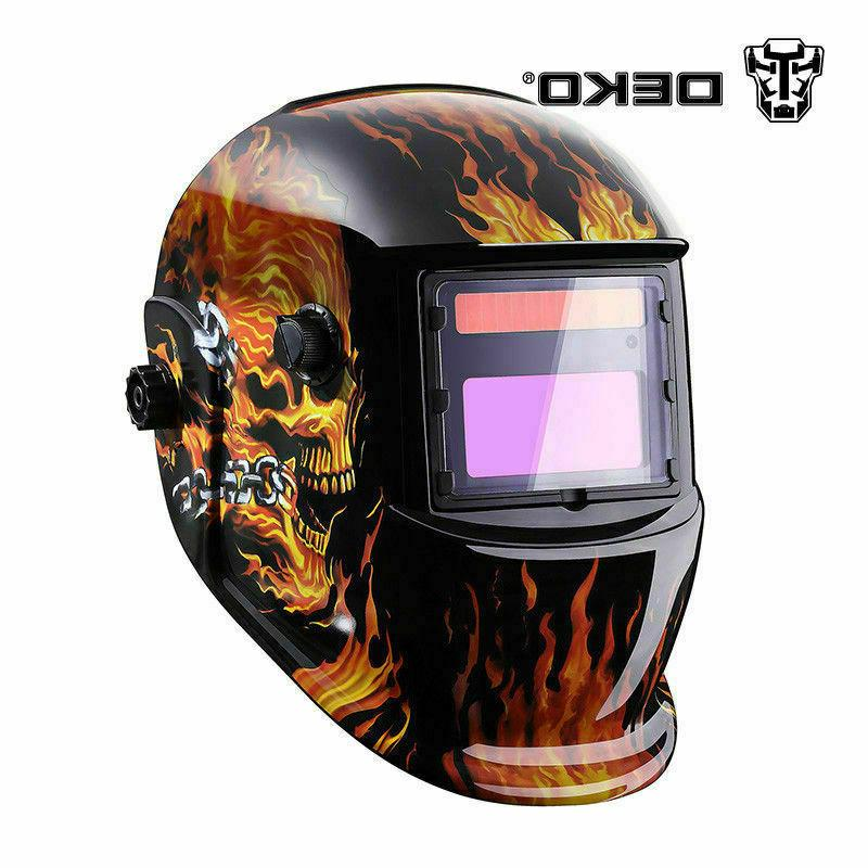 DEKO Pro Darkening Welding Helmet Arc Tig Mask Welder