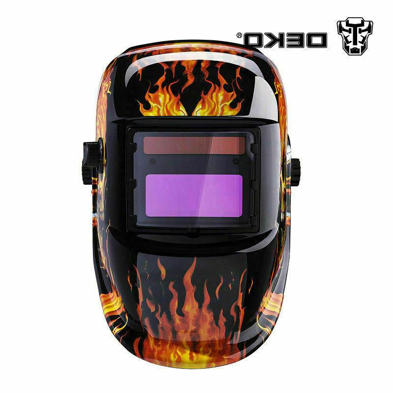 DEKO Auto Darkening Helmet Tig Welder