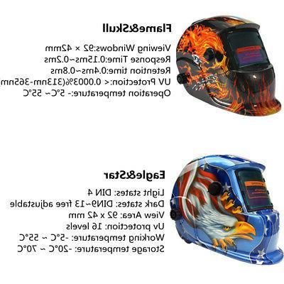 Pro Solar Auto-Darkening Welding Helmet Mig Welder