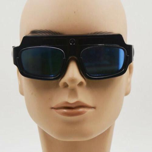 Pro Solar Powered Darkening Eyes Goggle Glasse