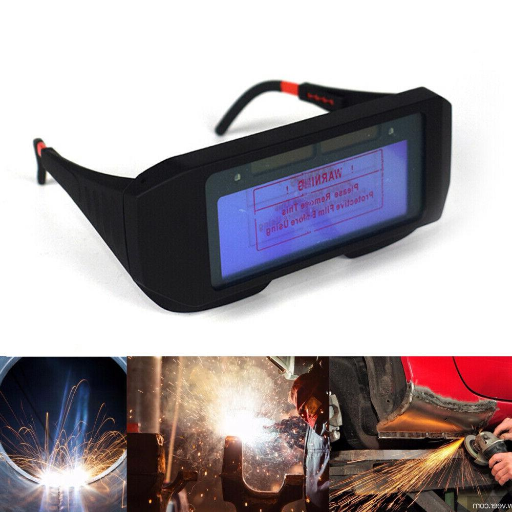 Pro Darkening Mask Eyes Goggle Welder Glasses