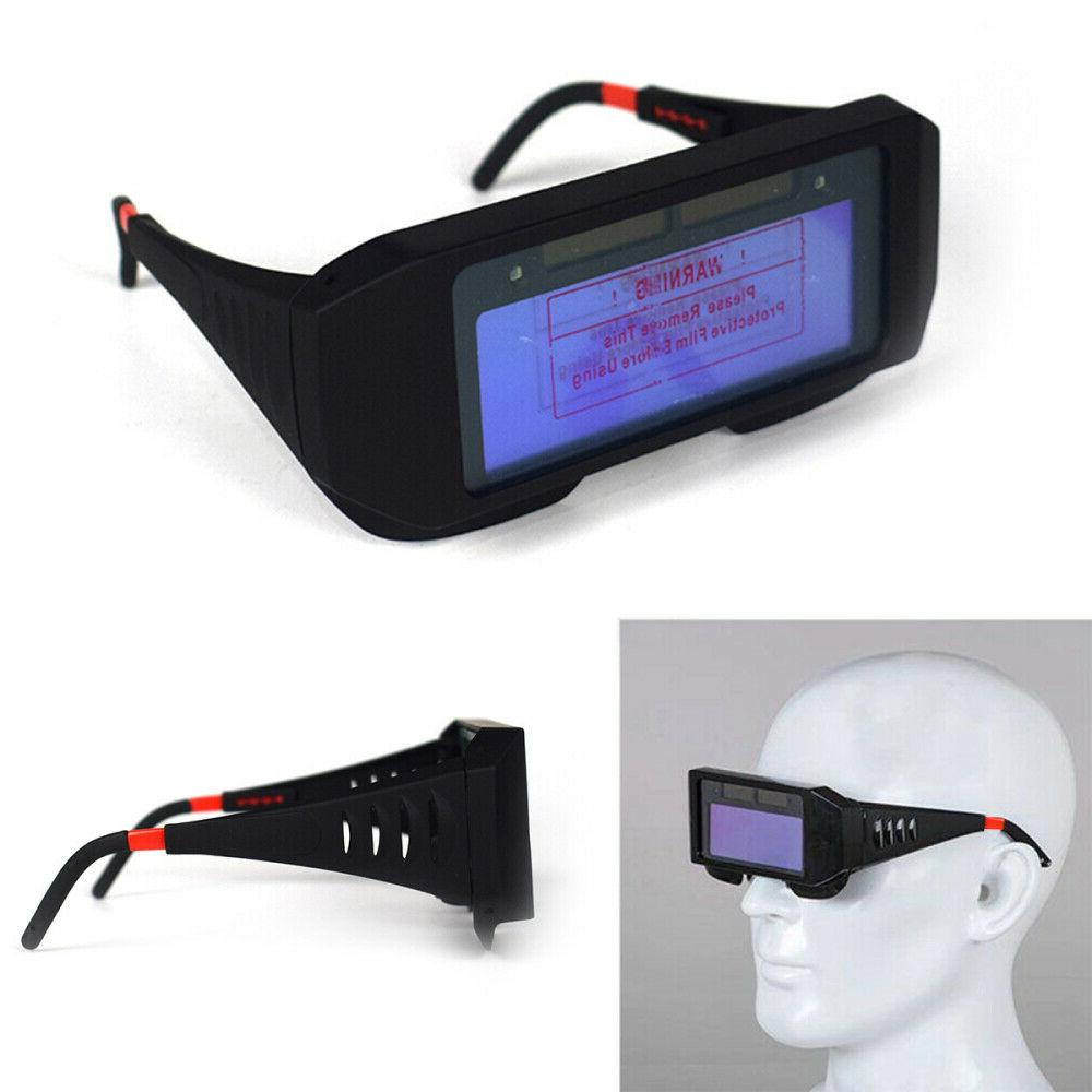 Pro Solar Powered Darkening Welding Helmet Eyes Goggle
