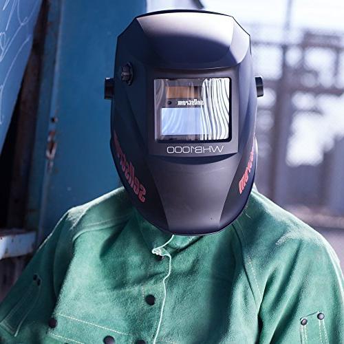 Sellstrom Advantage Filter Welding Helmet, Sh 4/9-13, External Headgear, Lightweight Nylon