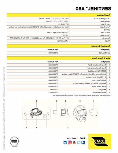 ESAB Sentinel A50 Automatic Welding Helmet, Revco