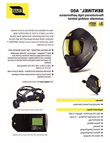 ESAB Sentinel Automatic Welding Helmet, Revco