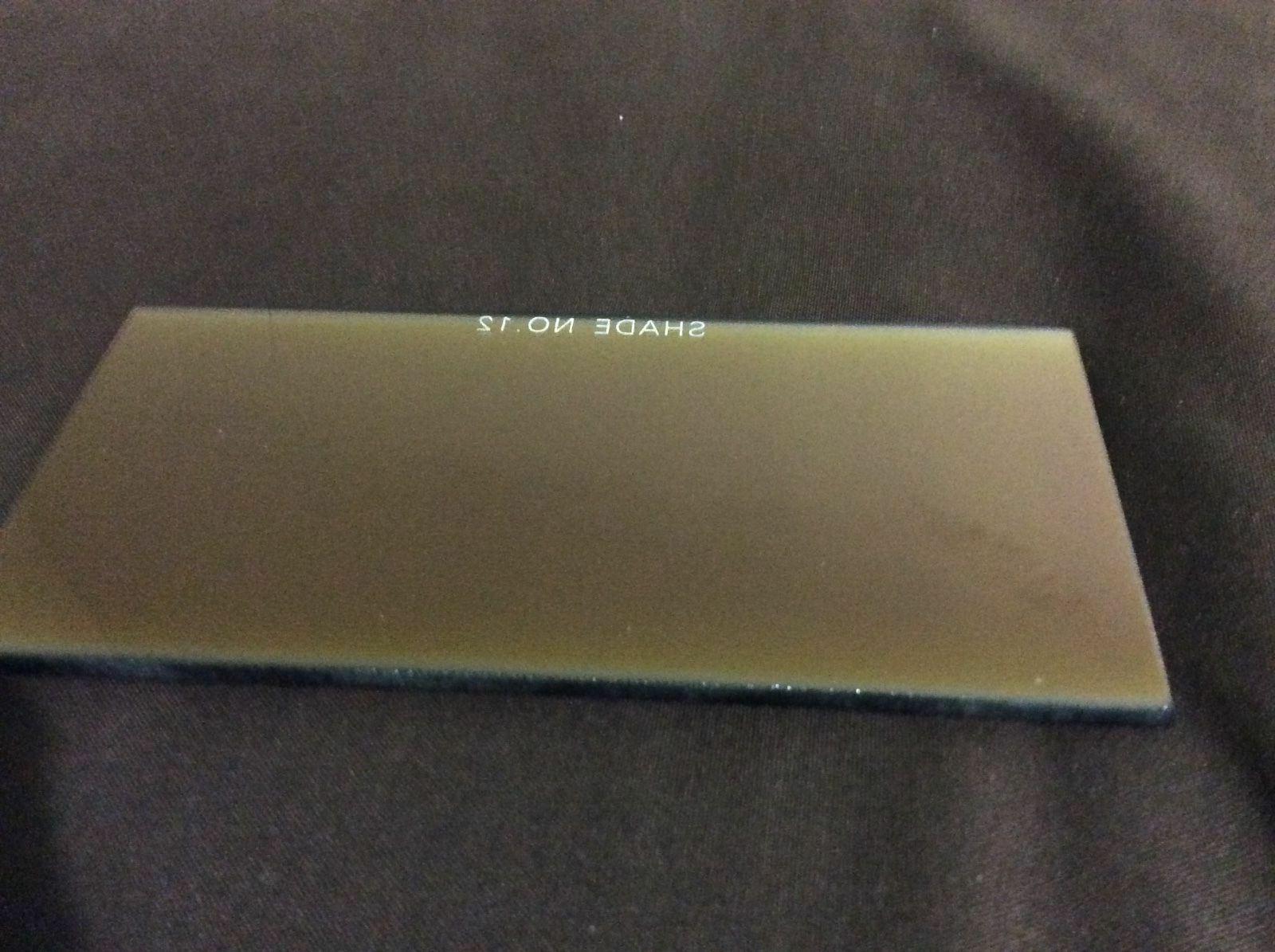 Shade 10 Welding Gold Filter Glass 2x4