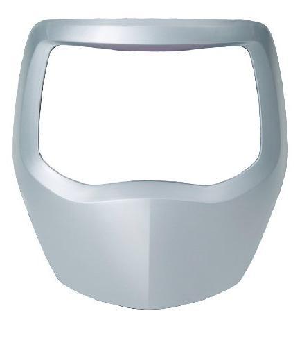 silver front panel helmet 9100