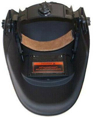 Sliver Helmet Welder LARGE Head Face Protection Solar
