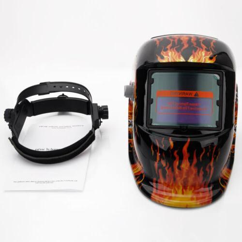 Welding Helmet Solar Auto Darkening Mig Certified 107