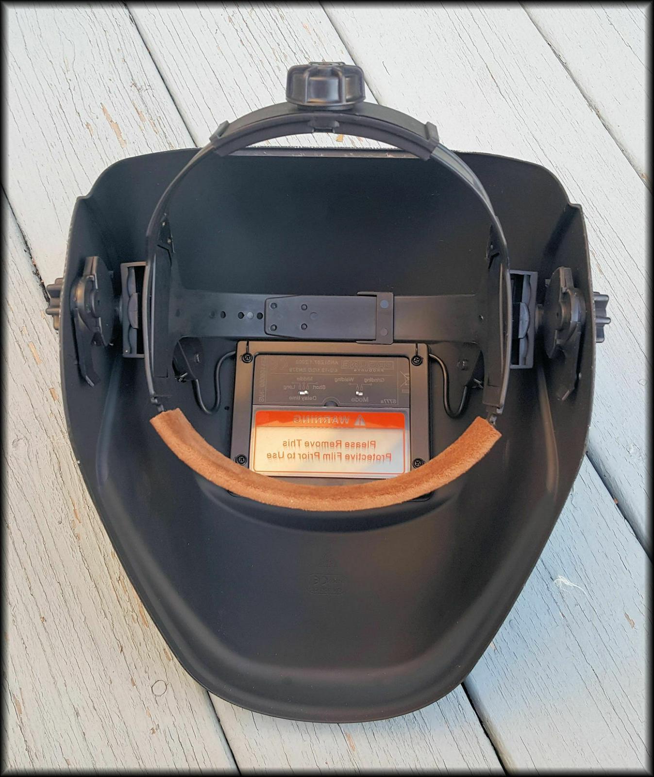 PROLINE Solar Welding/grinding Helmet 1/30,000 second