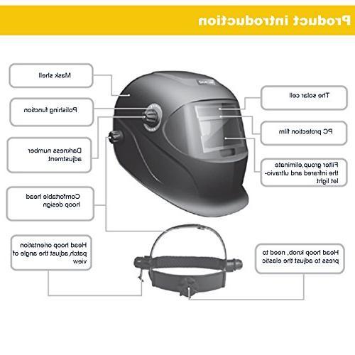Generic Professional Solar Welding Arc Mig Mask