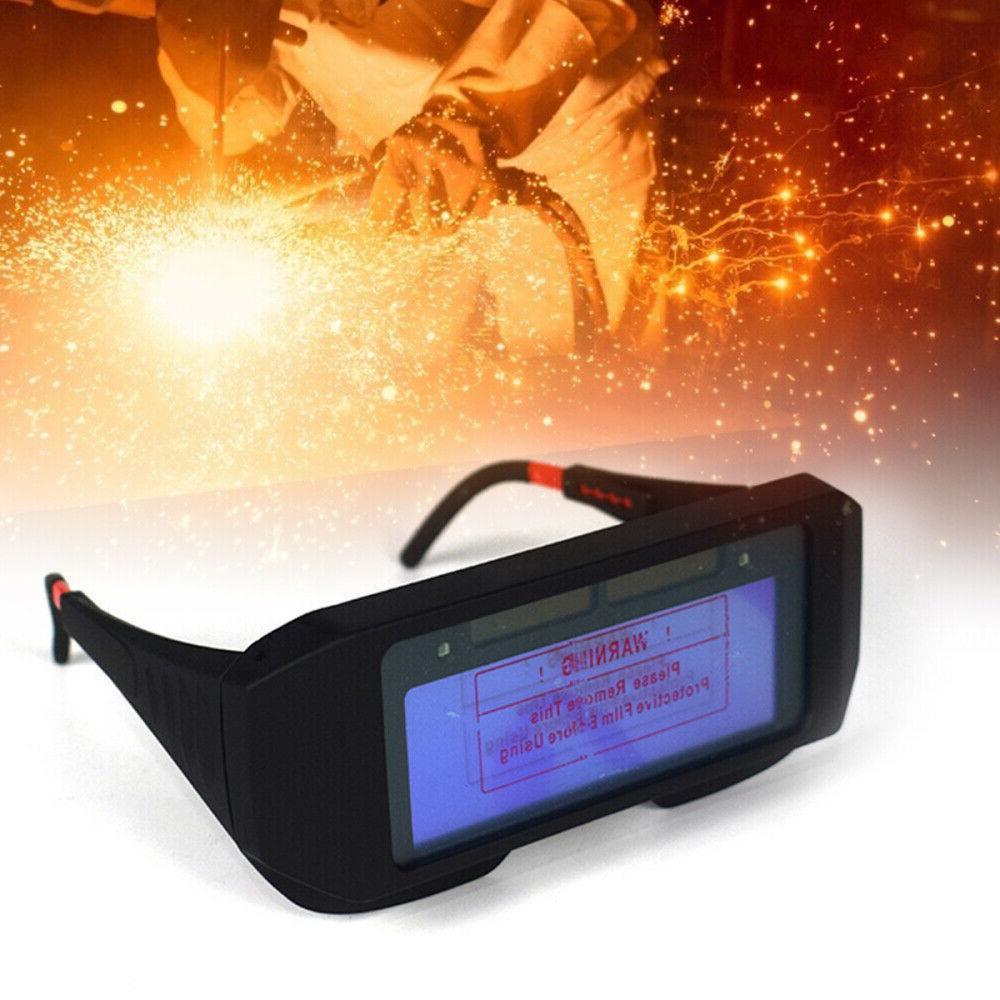 Pro Solar Darkening Welding Mask Eyes Goggle Welder