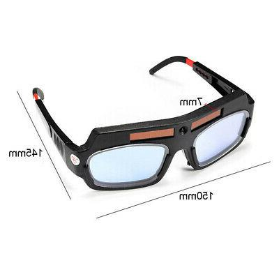 Solar Powered Auto Darkening Welding Goggle Glasses USA